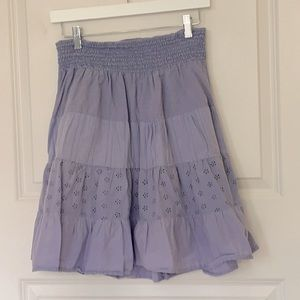 Boho Periwinkle Skirt